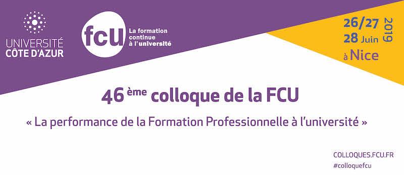 Colloque FCU 2019